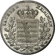 3 Kreuzer - Bernhard II – avers