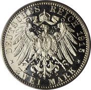 2 Mark - Georg II – revers