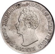 1 Gulden - Bernhard II – avers