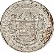 1 vereinsthaler - Bernhard II – revers