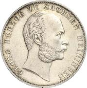 1 Vereinsthaler - Georg II – avers