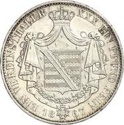 1 Vereinsthaler - Georg II – revers