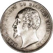 2 gulden - Bernhard II – avers