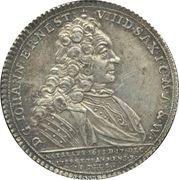 ½ Thaler - Death of Johann Ernst VIII – avers
