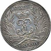 ½ Thaler - Death of Johann Ernst VIII – revers