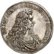 ⅔ thaler Johann Ernst VIII – avers
