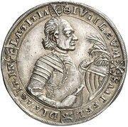 ¼ thaler Johann Ernst VIII (Réformation) – avers