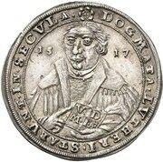 ¼ thaler Johann Ernst VIII (Réformation) – revers