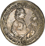 1 Thaler - Johann Ernst VIII – avers