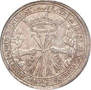 1 Thaler - Wilhelm IV (Mort de Wilhelm IV) – revers