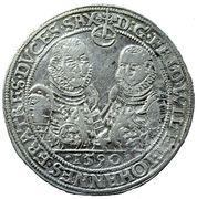 1 thaler Friedrich Wilhelm I. et Johann III. – avers