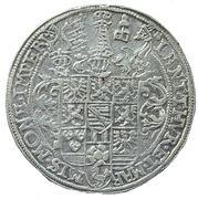 1 thaler Friedrich Wilhelm I. et Johann III. – revers