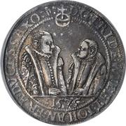 1 thaler Friedrich Wilhelm I et Johann III – avers