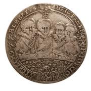 ½ thaler Johann Ernst IV., Friedrich VII., Wilhelm IV., Albrecht I., Johann Friedrich IV., Ernst III., Friedrich Wilhelm et Bernhard – avers