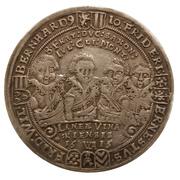 ½ thaler Johann Ernst IV., Friedrich VII., Wilhelm IV., Albrecht I., Johann Friedrich IV., Ernst III., Friedrich Wilhelm et Bernhard – revers