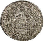 2 gulden Johann Ernst et ces 6 frères – avers