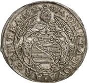 2 gulden Johann Ernst IV et ces 6 frères – avers