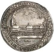 1 thaler - Wilhelm (réconstruction du chateau) – avers