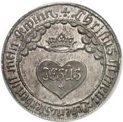 1 Thaler - Johann Ernst (mort de Eleonora Dorothea) – revers