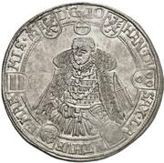 1 thaler Friedrich Wilhelm et Johann – revers