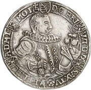 1 thaler Friedrich Wilhelm et Johann – avers