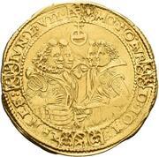 1 goldgulden Johann Ernst IV et ces 7 frères – avers
