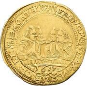 1 goldgulden Johann Ernst IV et ces 7 frères – revers