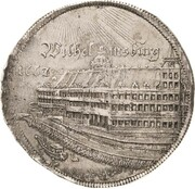 1 thaler Wilhelm IV (Chateau de Wilhelmsburg) – revers