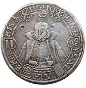 1 thaler Friedrich Wilhelm & Johann – revers
