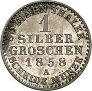 1 Silber groschen - Carl Alexander – revers