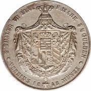 2 thaler / 3½ gulden - Carl Friedrich – revers