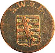 1½ Pfennig - Carl August – avers