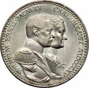 3 Mark - Wilhelm Ernst (grand-Duché) – avers