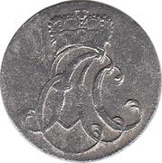 6 pfennig Ernst August Constantin – avers