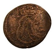 1 pfennig Ernst August II Constantine – avers