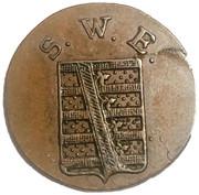 1½ pfennig Carl Friedrich – avers