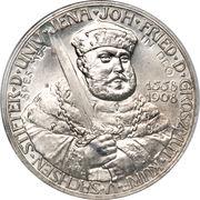 5 Mark - Wilhelm Ernst (350ème anniversaire de l'Université de Jena) – avers