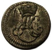 3 pfennig Ernst August II Constantine – avers