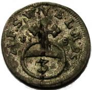 3 pfennig Ernst August II Constantine – revers