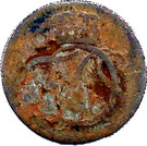 1 pfennig Ernst August II Constantin – avers