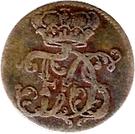2 Pfennig - Friedrich III – avers