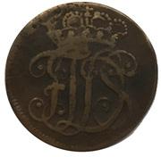 1½ pfennig Ernst August Constantin sous tutelle de Friedrich III. de Gotha – avers