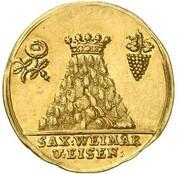 1 ducat Ernst August I Konstantin – avers