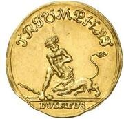1 ducat Ernst August I Konstantin – revers