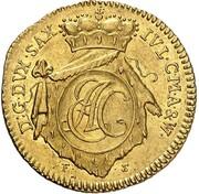1 ducat Ernst August II Konstantin – avers