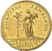 1 ducat Ernst August II Konstantin – revers