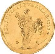 1 ducat Friedrich III – revers