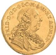 1 ducat Friedrich III – avers