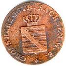 1 Pfennig - Carl Friedrich – avers