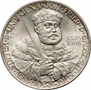 2 Mark - Wilhelm Ernst (350ème anniversaire de l'Université de Jena) – avers